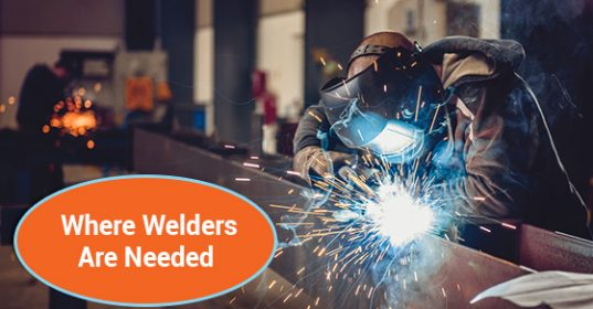 Where Welders Are Needed